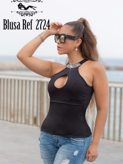Blusa Colombiana Negra