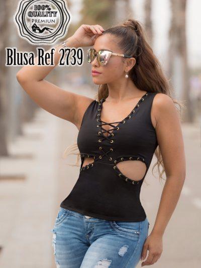 Blusa Latina Negra